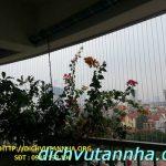 Lắp đặt lưới cầu thang bền đẹp địa điểm Hà Nội