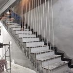 Cáp cầu thang Hòa Phát- Mẫu cầu thang hiện đại mà an toàn
