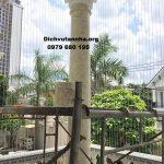 Lắp đặt lưới bảo vệ ban công cho chung cư, căn hộ tại Phú Thọ