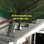 Tại sao phải lắp đặt lưới bảo vệ cầu thang- lưới an toàn cầu thang