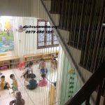 Lưới bảo vệ cầu thang bảo vệ trẻ nhỏ vui chơi trong an toàn