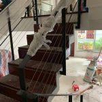 Lắp đặt cáp cầu thang bằng tăng đơ uy tín tại quận Long Biên