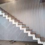 Lắp đặt cầu thang làm bằng dây cáp chuyên nghiệp tai Việt Trì
