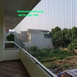 Lắp đặt lưới an toàn ban công rẻ đẹp tại phường Xuân La