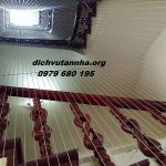 Lắp đặt lưới an toàn cầu thang rẻ đẹp tại phường Nguyễn Trãi