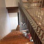Thi công cầu thang bằng dây cáp tăng đơ tại quận 1, TPHCM