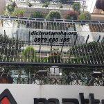 Lắp đặt cầu thang bằng cáp tăng đơ inox tại huyện Phúc Thọ, Hà Nội
