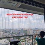 Lắp đặt lưới an toàn ở ban công giá rẻ tại huyện Chương Mỹ, Hà Nội