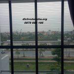 Lắp đặt lưới chống ngã ban công tại huyện Phúc Thọ, Hà Nội
