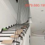 Thiết kế cầu thang bằng dây cáp tăng đơ tại quận 3 tphcm