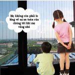 Lắp đặt lưới an toàn cửa sổ cho chung cư